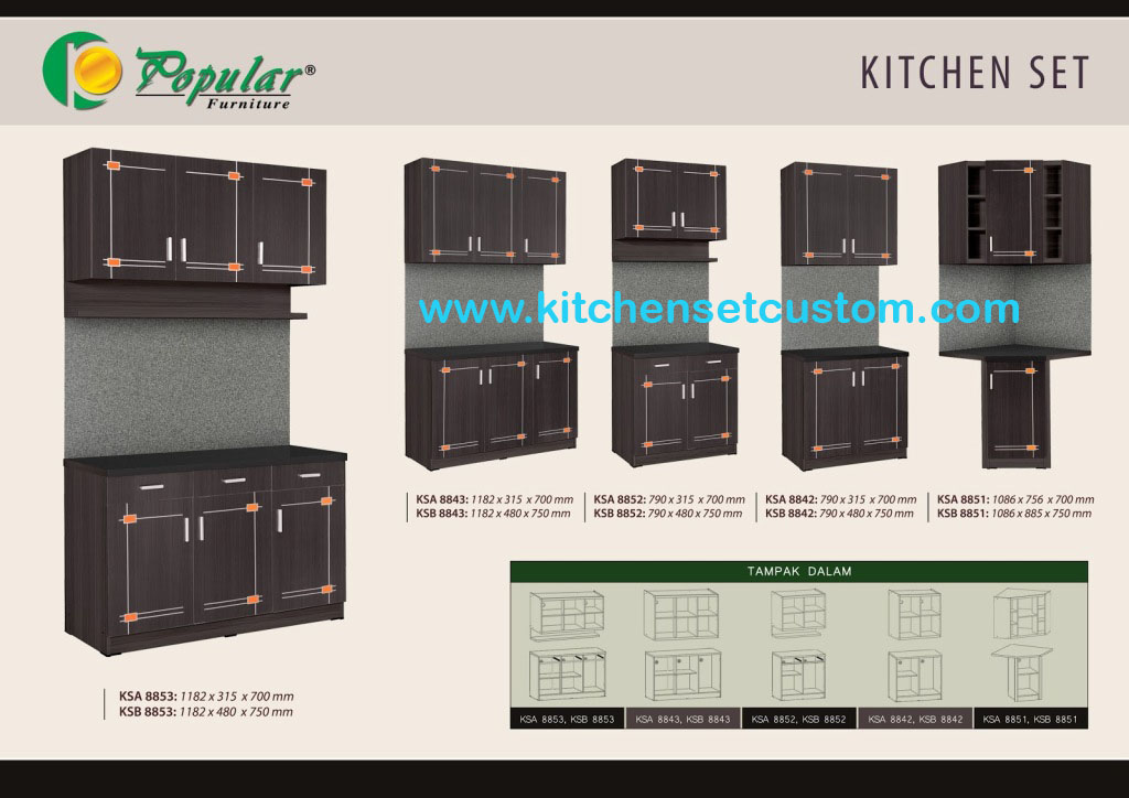 Kitchen Set Black Lotus Series