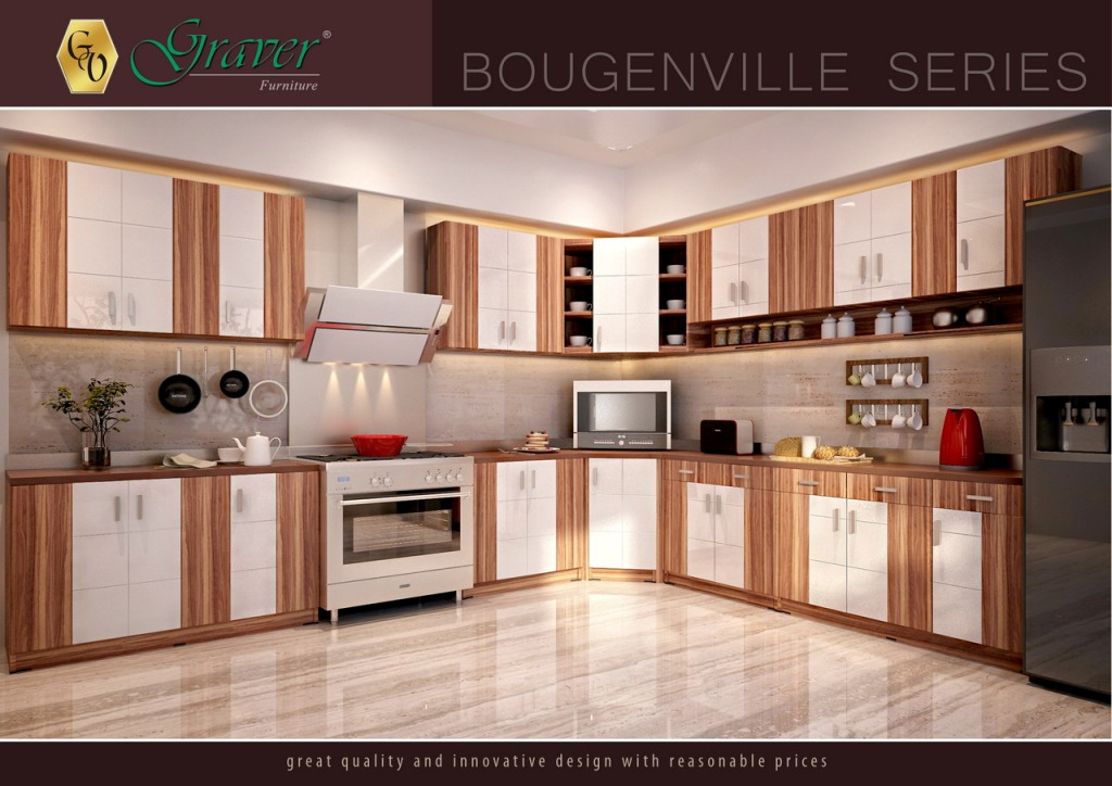Kitchen Sets Bougenville Series Graver Furniture