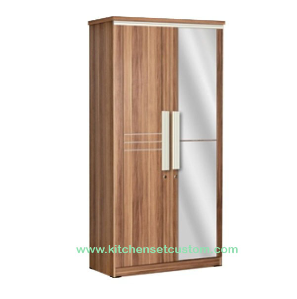 Lemari Pakaian 2 Pintu LP 6296 Popular Furniture
