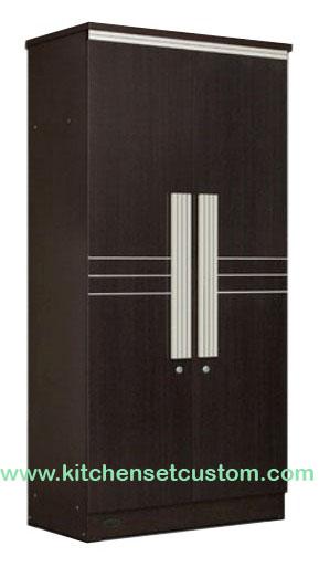 Lemari Pakaian 2 Pintu LP 9295 Popular Furniture
