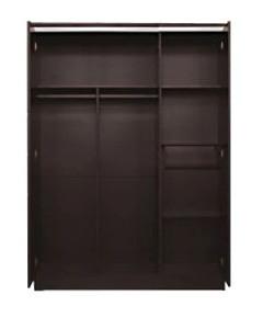 Tampak dalam Lemari Pakaian 3 Pintu Everlasting Popular Furniture