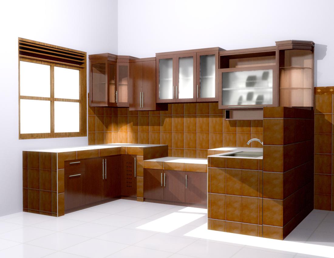 Kitchen Set Custom 1 Naturalis Furniture