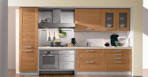 Kitchen Set Custom 2 Straigh Type Type Lurus Minimalis