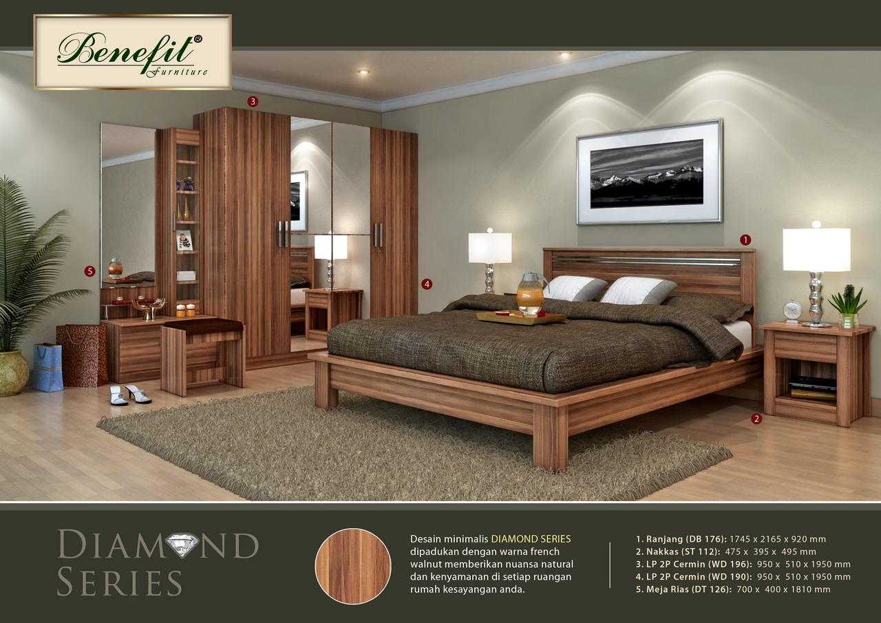 Kamar Set Diamond Series Benefit Furniture