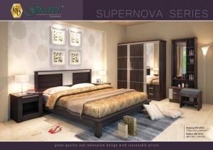 Kamar Set Supernova Series Graver Furniture