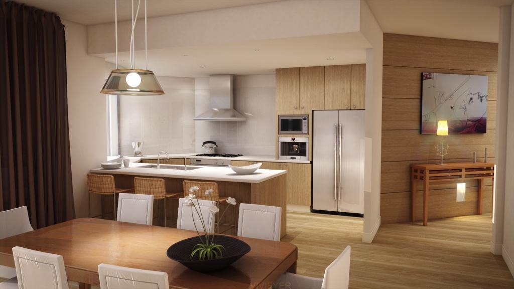 Kitchen Set Custom 6 Naturalis Furniture