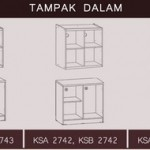 Kitchen Set 2 Pintu KSA 2742