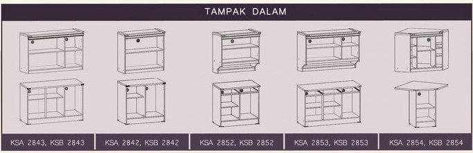 Tampak Dalam Kitchen Set Natalie Graver Furniture