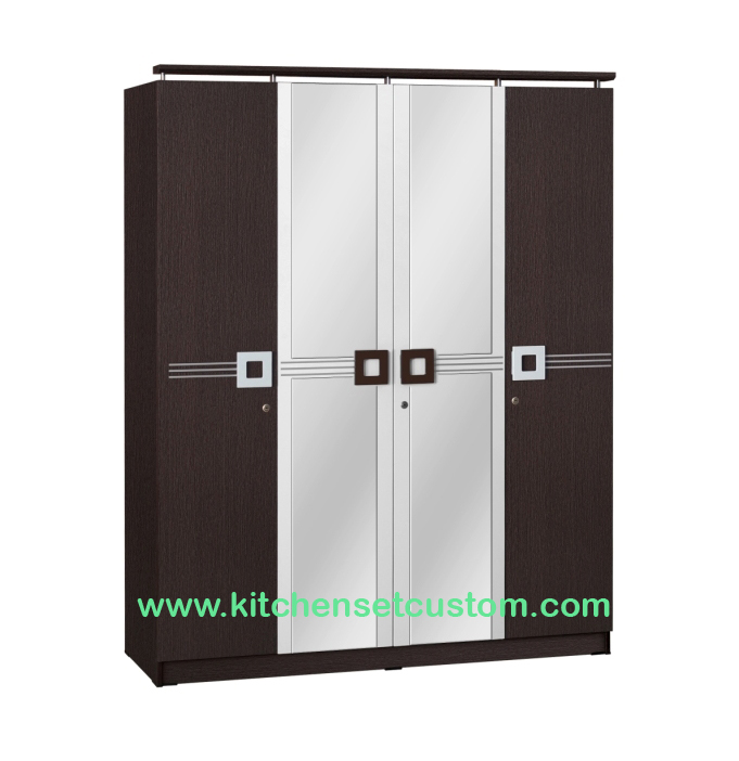 Lemari Pakaian 4 Pintu WD 290 Benefit Furniture