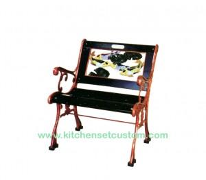 Naturalis Furniture Kursi Taman Ikan Koi Chair