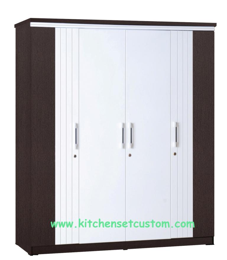 Lemari Pakaian 4 Pintu LP 2699 Graver Furniture