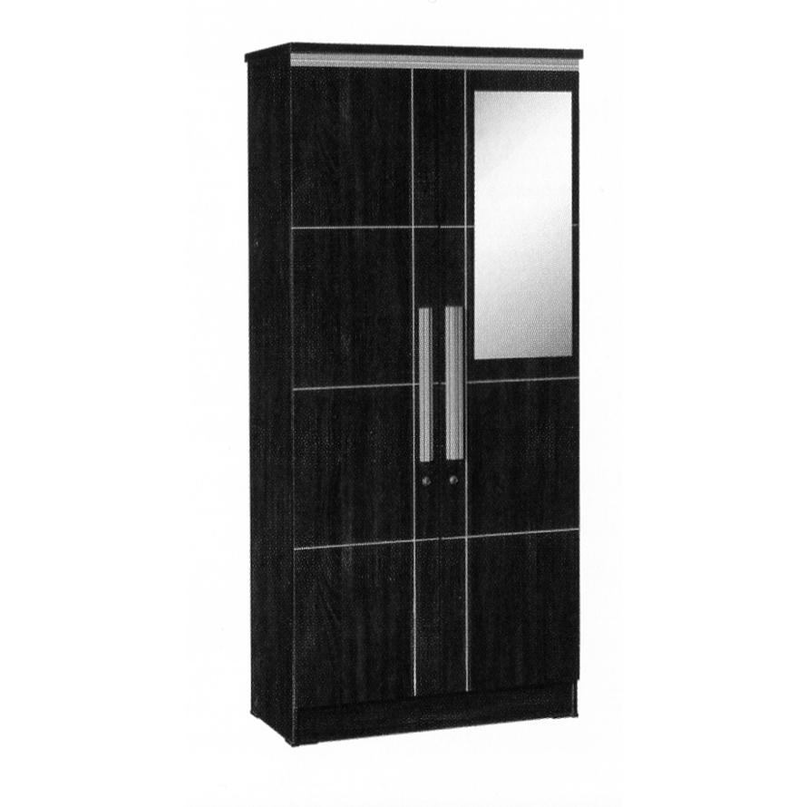 Naturalis Furniture Lemari Pakaian 2 Pintu LP 8796