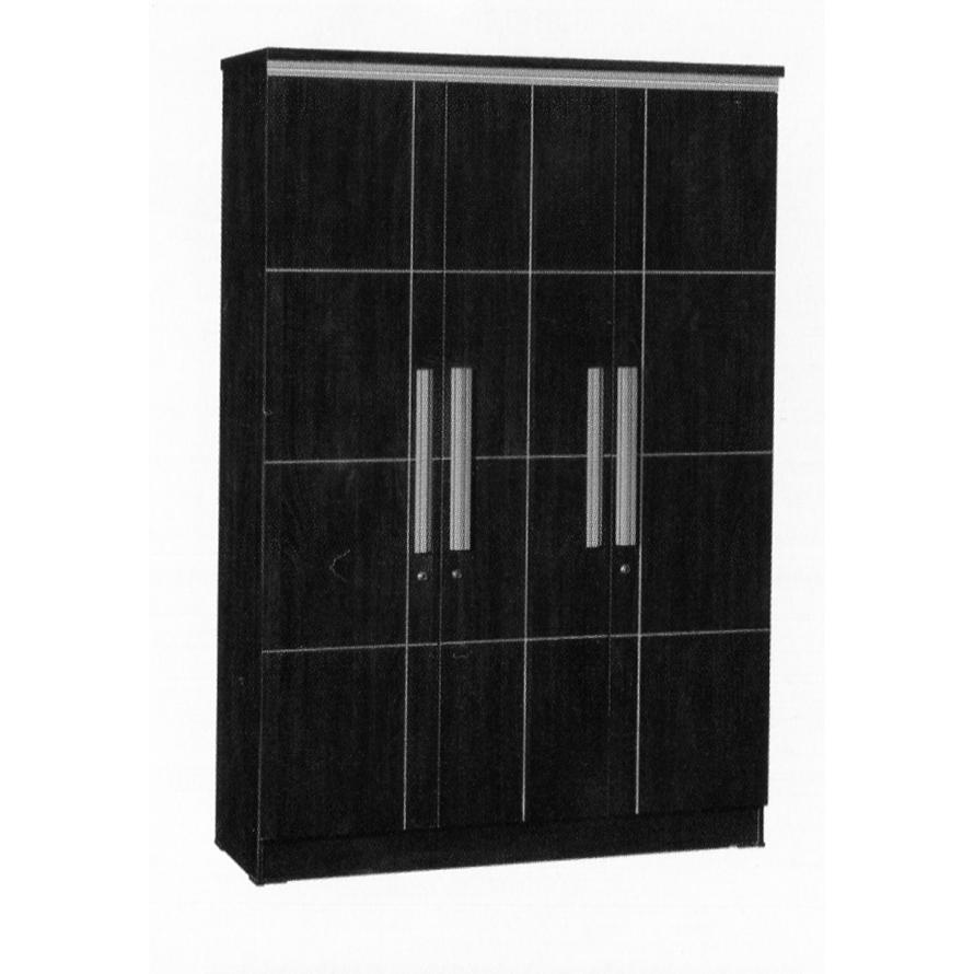 Naturalis Furniture Lemari Pakaian 3 Pintu LP 8797