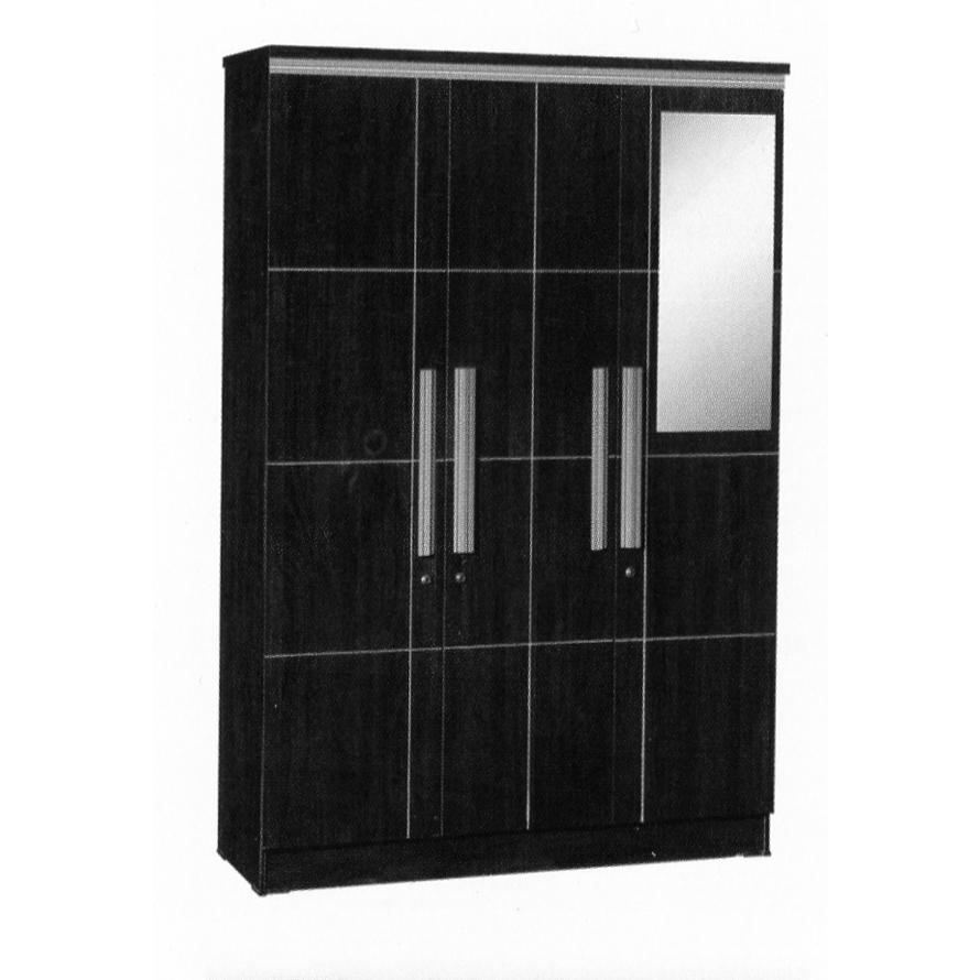 Naturalis Furniture Lemari Pakaian 3 Pintu LP 8798