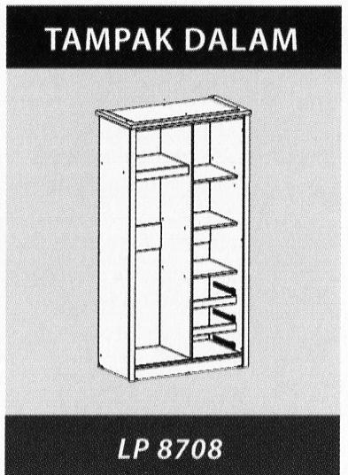 Naturalis Furniture Tampak Dalam LP 8708
