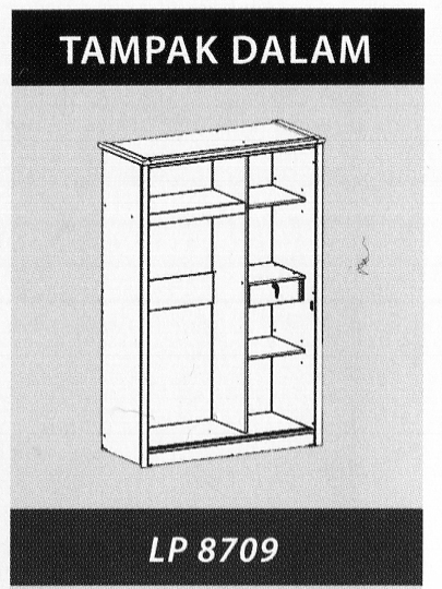 Naturalis Furniture Tampak Dalam LP 8709