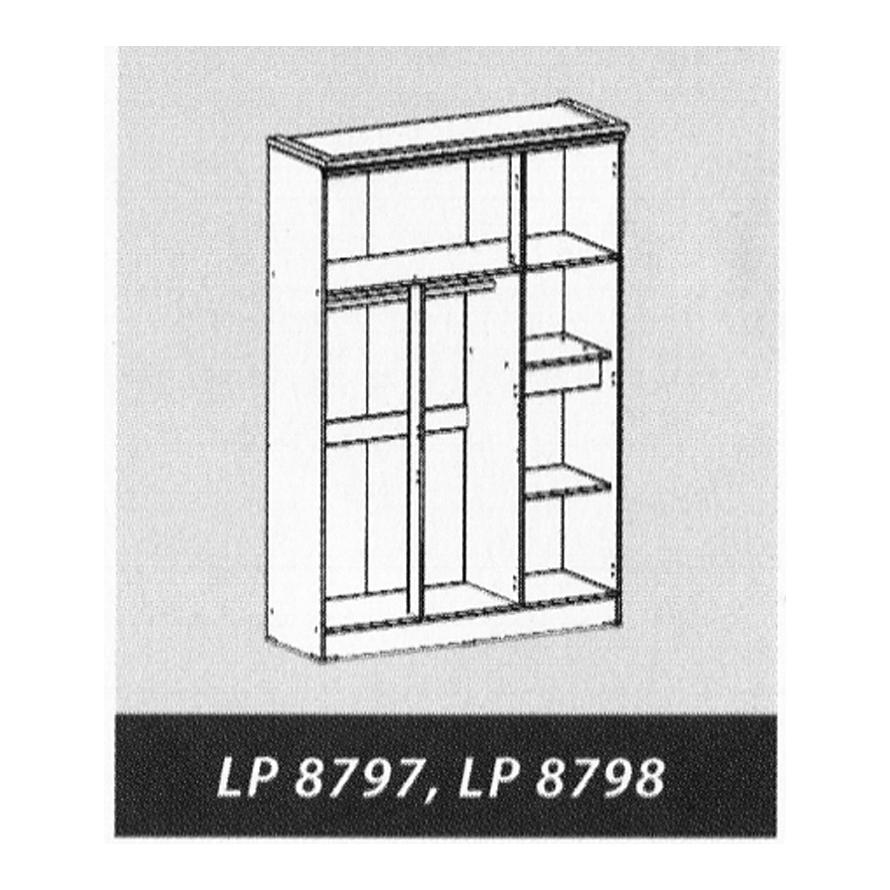 Naturalis Furniture Tampak Dalam LP 8797-8798