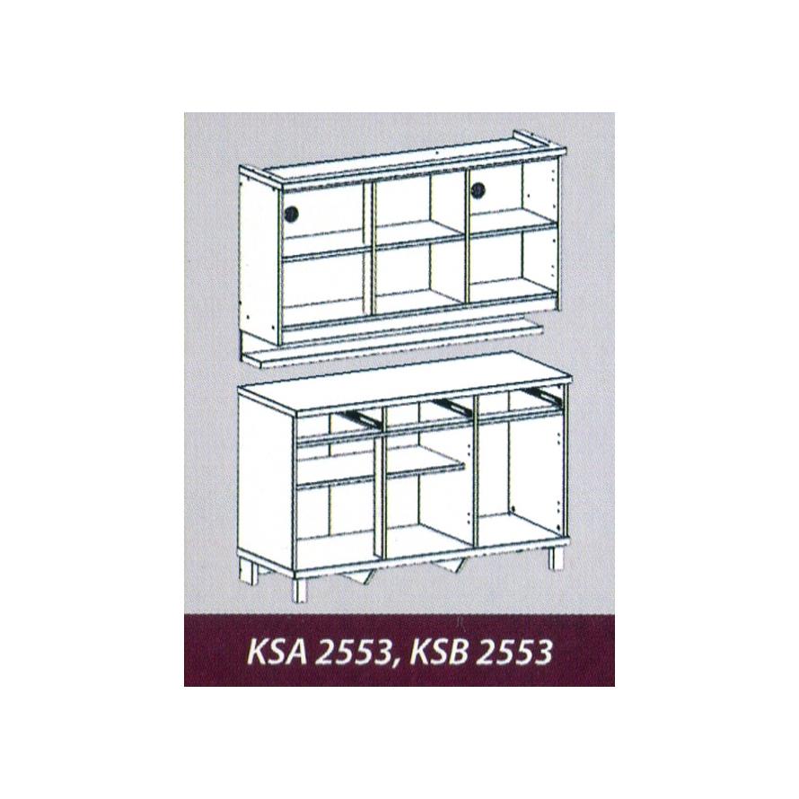 Naturalis Furniture Tampak dalam KSA 2553 KSB 2553