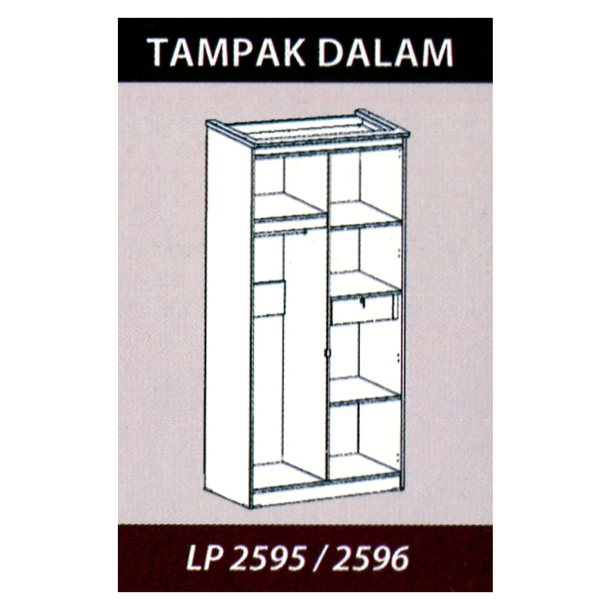 Naturalis Furniture Tampak dalam LP 2595-2596